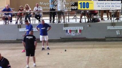 Gap, les cent ans : France / Italie, le trophée des légendes, le double
