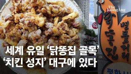"""""""50년 똥집 맛"""" 美 대사도 """"꼬끼오"""" 외치는 치킨성지 비밀[e즐펀한 토크]"""