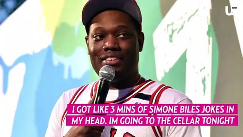 Michael Che Called Out for Allegedly Sharing Simone Biles Jokes
