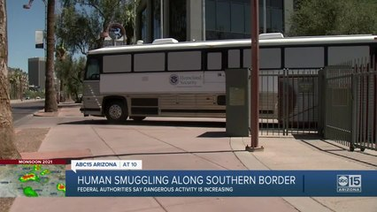 Human smuggling along southern border is reportedly increasing