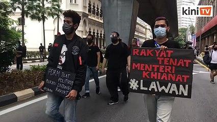 'Rakyat tenat, menteri khianat' - Sekitar protes #Lawan di Kuala Lumpur