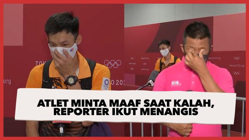 Atlet Minta Maaf Kalah di Olimpiade Tokyo, Reporter Berlinang Air Mata saat Siaran
