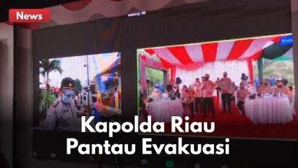 KAPOLDA RIAU PANTAU LANGSUNG EVAKUASI PASIEN COVID-19 !!