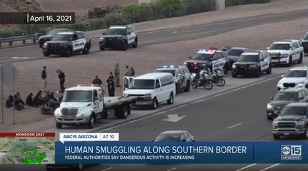 Valley traffic stop leads to no consequences for an alleged human smuggler
