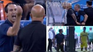Villarreal's Unai Emery lost the plot after Juan Foyth was sent off vs Marseille