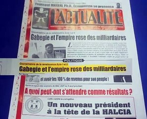 Revue Presse Labari 30 Juillet 2021