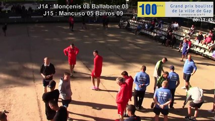 Sport-Boules Lyonnaise à Gap : 256 quadrettes