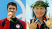Most bemedaled Olympic athletes