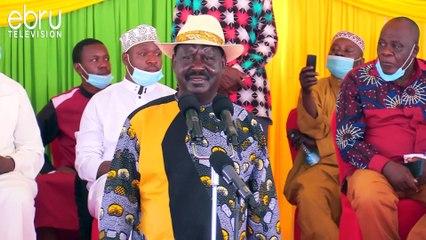 Raila Kufanya Mazungumzo Na One Kenya Baada Ya NASA Kuvunjika