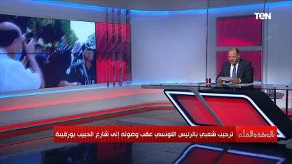 """""""هاجمت الرئيس التونسي قيس سعيد"""" الديهي يسرد أسرار خطيرة عن مراسلة نيويورك تايمز"""
