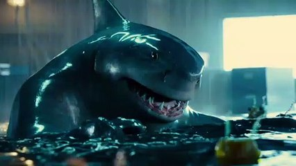 The Suicide Squad - King Shark - Sylvester Stallone