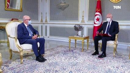 الرئيس التونسي يستقبل محافظ البنك المركزي التونسي