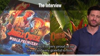 Jungle Cruise Interview Edgar Ramirez (Captioned)