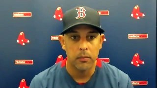 Alex Cora on getting SWEPT | Postgame Press Conference Red Sox vs Rays 8-1