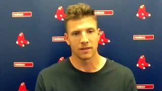 Nick Pivetta Postgame Press Conference Red Sox vs Rays 8-1