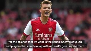 Arteta pleased with White's Arsenal debut