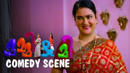 എന്റെ മുഖത്ത് അധികം പൗഡർ ഉണ്ടോ |_Mummy & Me  | Comedy Scene | Mukesh | Urvashi