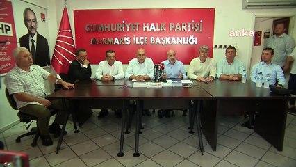 CHP Heyeti Marmaris'te: Gelmiş geçmiş en beceriksiz Orman Bakanısın