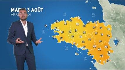 Illustration de l'actualité La météo de votre mardi 3 août 2021