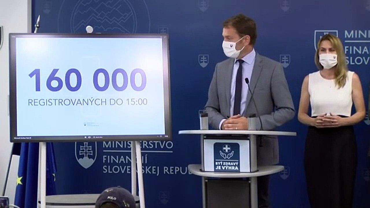 ZÁZNAM: Spustenie očkovacej prémie a sprostredkovateľského bonusu - TK ministra financií SR Igora Matoviča