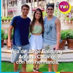 Hijos de Jorge Salinas, tuvieron un gran reencuentro