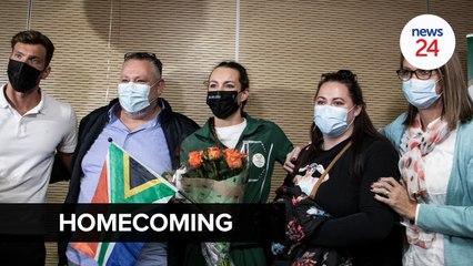 WATCH | 'It hasn't sunk in yet' - SA's golden girl Tatjana Schoenmaker back on home soil