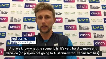 Root doesn't rule out Ashes squad withdrawals amid family travel uncertainty
