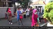 Beras Bantuan PPKM Dibagikan di Kota Semarang