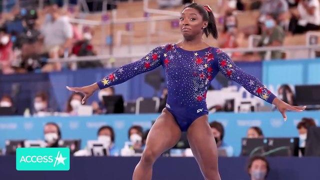 Simone Biles Will Compete In Balance Beam Final Alongside Teammate Suni Lee