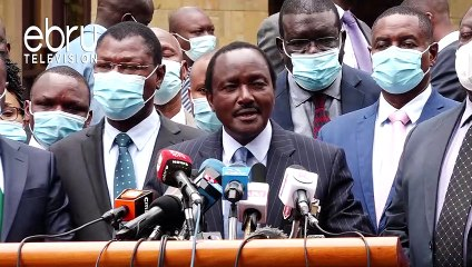 NASA Principals Sign Formal Exit Pact, Cite Mistrust From Raila's ODM