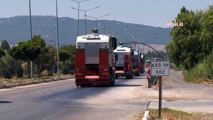 TOMA'lar yangınlara müdahale için yollarda