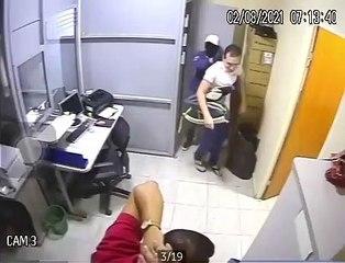 Bandidos assaltam Casa Lotérica na região de Sousa e PM já tem identificação de um dos suspeitos
