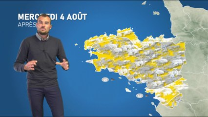 Illustration de l'actualité La météo de votre mercredi 4 août 2021