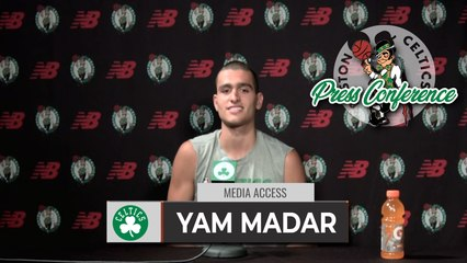 """Yam Madar: I'm Planning On Playing For The Celtics This Year.""""   FULL Interview 8-3"""