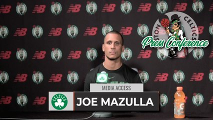 """Joe Mazulla: """"I Don't Know Why Grant Isn't Playing In Summer league.""""    FULL Interview 8-3"""