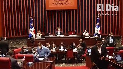 Senado excluye Código Penal de la agenda del día