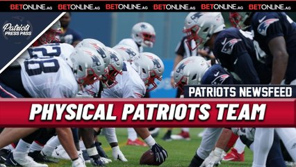 PATRIOTS NEWS: Pads Go on at Patriots Camp