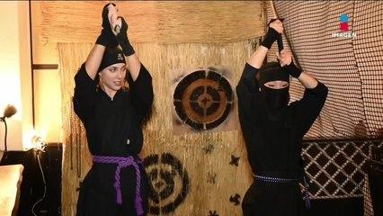 Cómo ser un auténtico ninja en Japón con Gaby Graf