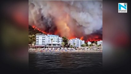 Turkey Wildfires death count rises , Coastal resorts affected