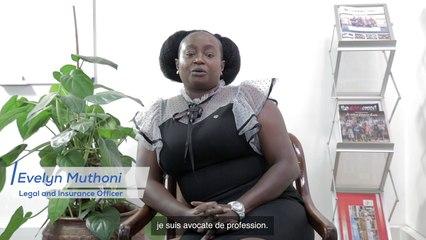 Nos collaborateurs ont du talent - Evelyn Muthoni