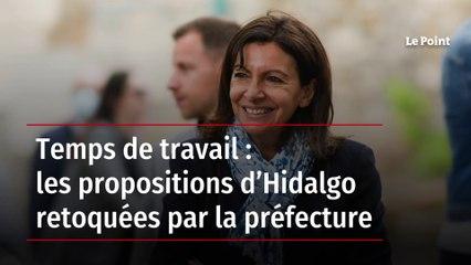 Temps de travail : les propositions d'Hidalgo retoquées par la préfecture