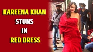 Kareena Kapoor Khan stuns in red dress