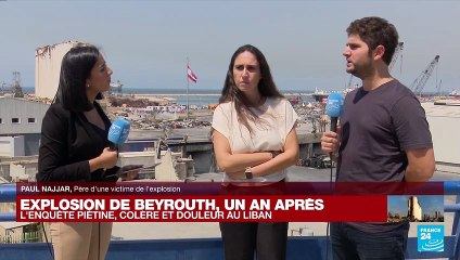 Explosion au Liban : un an après, la colère des parents de la plus jeune victime du drame