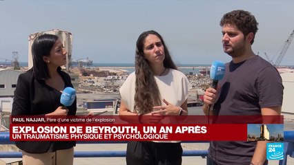 """Explosion de Beyrouth, un an après : """"On n'a pas réussi à faire notre deuil en l'absence de justice"""""""