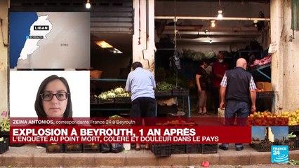 """Explosion de Beyrouth, un an après : """"Un moment très émouvant à la caserne des pompiers de Beyrouth"""""""
