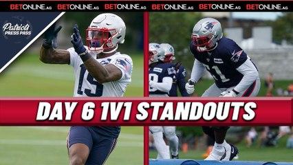 Day 6 Patriots 1v1 Standouts: Harry, Bourne, Barmore, Uche, & Judon