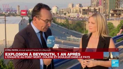 """Explosion à Beyrouth, un an après : """"Le peuple libanais doit rester uni pour avancer"""""""