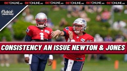 Mac Jones Bounces Back as Cam Newton Struggles   Patriots Training Camp Day 7