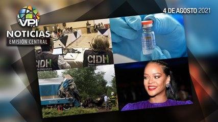 Noticias VPItv Emisión Central - Miércoles 04 de Agosto