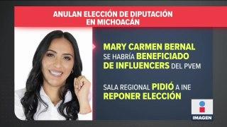 Anulan triunfo de dipuada en Michoacán por el caso de los influencers y el PVEM